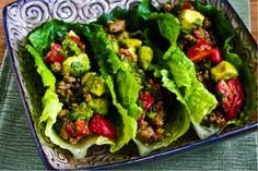 Medifast Recipe for Turkey Lettuce Wraps