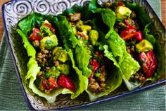 Medifast Recipe for Turkey Lettuce Wraps