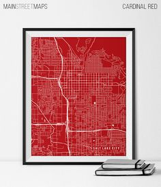Salt Lake City Utah State Map Art Print, University of Utah Map Art Dorm Decor Graduation Gift Salt Lake City City Map Salt Lake City Art https://www.etsy.com/listing/226870089/salt-lake-city-utah-state-map-art-print?ref=shop_home_active_24