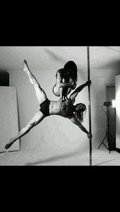 Pole dancing?