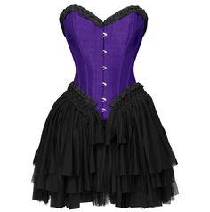 The Violet Vixen - Can-Can Corset Dress Purple, $192.00 (http://thevioletvixen.com/clothing/can-can-corset-dress-purple/)