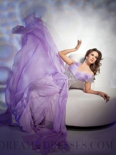 Cheap Beading V-neck Zip-up Floor-length Evening Dresses