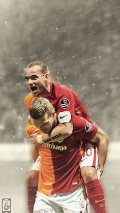 Lukas Podolski & Wersley Sneijder