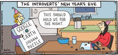by Hilary Price Funny Puzzles, Raising Kids, You Funny, New Years Eve, Introvert, Happy New Year, Hold On, Humor, Orange