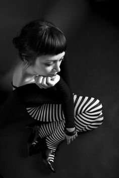 S is for stripes  © Armand Niculescu  (black & white)