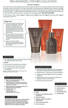My husband uses the Re9 mens line and has great results. The shaving gel is amazing for legs too I might add!