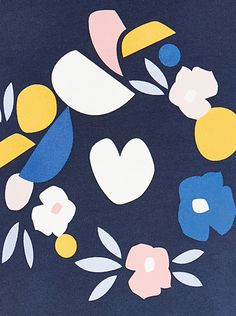 print & pattern blog - john lewis 'Kin' placement print