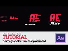 Tutorial After Effects em Português: Animação Offset Time Displacement - YouTube