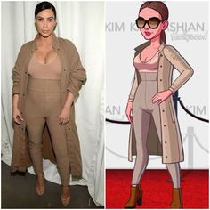 Weekend Event 1/22/2016 (Kim at the Yeezy Fashion Show in New York - 2015)