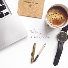 """Current state of mind  #flatlay #butfirstcoffee #workinprogress"""
