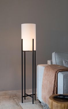 Lampe Bauhaus, Modern Country Style, Interior Styling, Table Lamp, Bulb, Flooring, Lights, Living Room, Projects