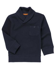Super comfy ribbed cotton with a cool collar and pocket.