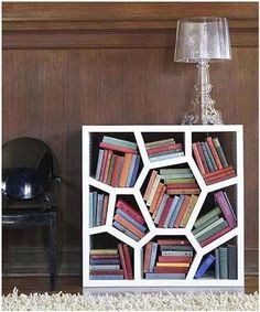 bookcase--irregular polygons