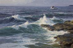 Donald Demers, By the Morning Surf