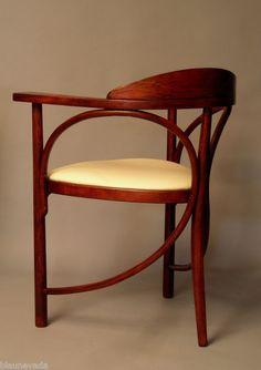 Kohn THONET Sessel Stuhl Bugholz Jugendstil #GISSLER #interiordesign