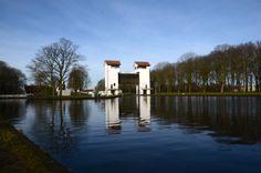 #Sluice #Twente #canal #Holland