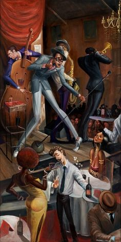 Dedication - 18x36 limited edition giclee - Frank Morrison – It's A Black Thang.com