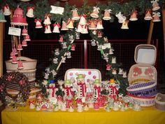 stánek s výrobky (vánoce)
