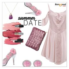 """Bangood"" by simona-altobelli ❤ liked on Polyvore featuring Avon, BangGood, polyvorecontest, summerdate and rooftopbar"
