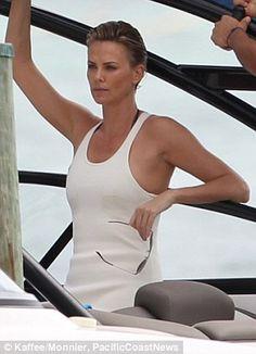 Charlize theron bikini shoots