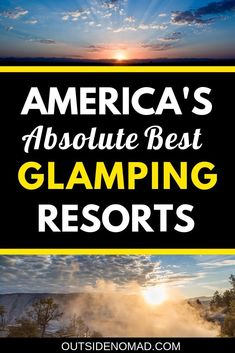 Spice up your next US road trip with the ultimate in luxury camping destinations. These glamping destinations offer stunning accommodations amongst the already stunning West coast. USA glamping at its best. Take your USA road trip to the next level. What Is Glamping, Go Glamping, Free Travel, Travel Usa, Travel Tips, Cheap Travel, Budget Travel, Travel Guides, Us Road Trip