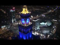 Warszawa z lotu drona