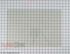 Inner Door Glass WP9781593 Alternate Product View  glass for KGRT307B $51.05