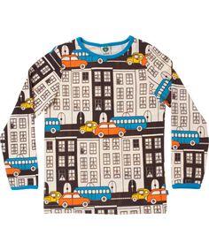 Småfolk retro houses printed T-shirt. €27.95 / $37.00