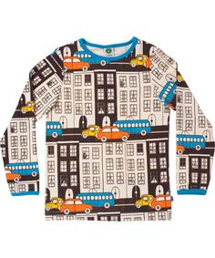 Småfolk retro houses printed T-shirt. €27.95 / $37.00