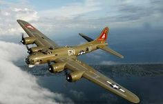 B-17 Flying Fortress  Remarkable in one sense because it carried so many crew and so little payload For both sides the average kill took 12,000 rounds of ammo. The courage of the teenagers who took to the skies in these is unforgetable. And with the USAF doing days and the RAF nights, the pressure was unbearable.