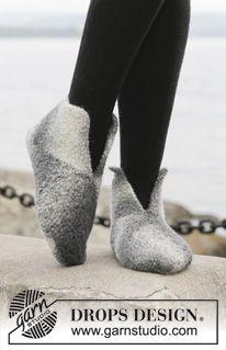 Die 16 Besten Bilder Von Filzschuhe Diy Handarbeit Knit Socks Und