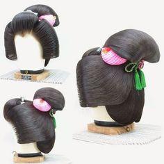 ...: Нихонгами - традиционные японские причёски