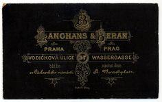 Langhans & Beran, Praha - Verso by oldichvondich (josefnovak33´s Alter Ego), via Flickr