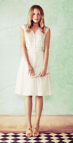 The Little White Dress // Tory Burch