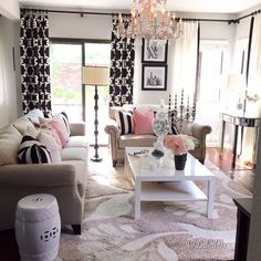 Home Decorating Style 2019 for Feminine Living Room Decor, you can see Feminine Living Room Decor and more pictures for Home Interior Designing 2019 at Best Home Living Room. Home Decor Inspiration, Home Living Room, Home N Decor, Home, Living Room Decor, Apartment Decor, Home Deco, Interior Design, Home And Living