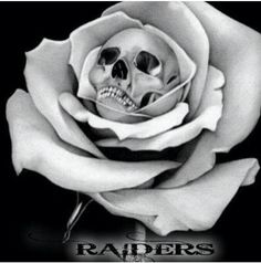 Oakland RAIDERS tattoo