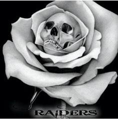 Oakland RAIDERS tattoo