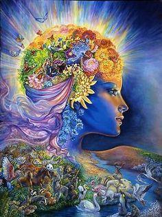 The Feminine Principle, het Vrouwelijke Principe. De Vrouwelijke Energie. De gevende energie. De zorgzame energie. De creërende Energie. De Heilzame Energie. De Helende Energie. De Beschermende Energie. EEN met de Dieren, EEN met het Universum, EEN met ALLES wat leeft op Moeder Aarde