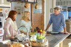Treat Williams, Diane Ladd, Barbara Niven, Jesse Metcalfe, and Meghan Ory in Chesapeake Shores (2016)