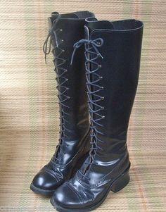 lårlange støvler læder ting kvinder elsker ved mænd