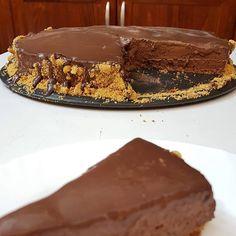 Τούρτα μους Σοκολάτα !!! ~ ΜΑΓΕΙΡΙΚΗ ΚΑΙ ΣΥΝΤΑΓΕΣ 2 Greek Desserts, Pudding Desserts, Greek Recipes, Nutella, Cooking Recipes, Pie, Sweets, Chocolate Cakes, Trifles