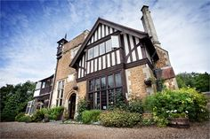 Farnham House Hotel is an exclusive use wedding venue with outdoor garden ceremony facilities. Unique Wedding Venues, Wedding Reception Venues, Farnham House Hotel, Country House Hotels, Surrey, Acre, Backdrops, Photographs, Exterior