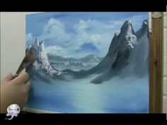 """Learn To Paint Mountains """"Wilderness Grandeur"""" with Michael Thompson"""