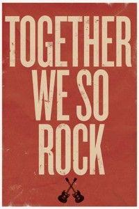 Yeah you do! - Republic of You | guitars | poster | saying | rock | rock n roll | www.republicofyou.com.au