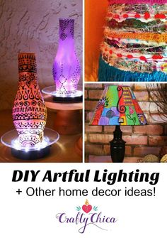 1189 best diy lampshade ideas images on pinterest in 2018 diy diy artful lighting other easy home projects for spring solutioingenieria Gallery