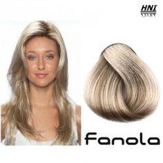 Vopsea de par blond cenusiu platinat intens 10.11 Fanola