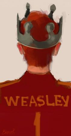 Weasley is our King. Gryffindor Pride ❤️