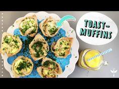 Toast Muffins mit Käse und Schinken – so geht's - LECKER.de