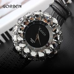Shinning Fashion Brand women's Sports Watches Bling Crystal Rhinestone Ladies Quartz Analog PU WristWatch Clock Relogio feminino #>=#>=#>=#>=#> Click on the pin to check out discount price, color, size, shipping, etc. Save and like it!