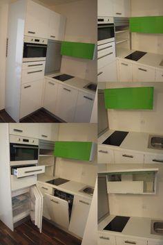 Plnohodnotná uchyňská linka délky ------------------------------------------------------------- Kitchen cabinet with long Kitchen Cabinetry, Joinery, Filing Cabinet, Carpentry, Kitchen Design, Storage, Wood, Interior, Furniture